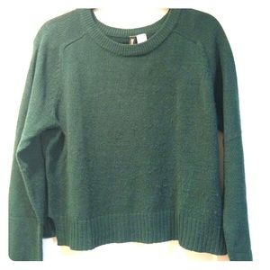 H&M - Green Short sweater - Size M